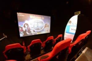 בית קולנוע רב חושי - שבעה מימדים