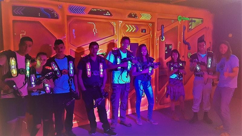 team lasertag